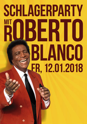 Party mit Roberto Blanco